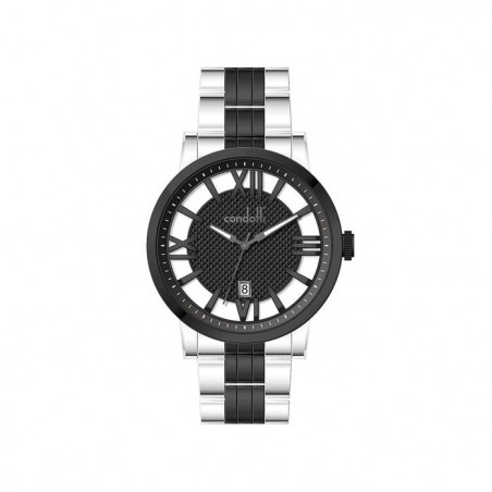 Police 13076JPCL/04 Hydra Black Dual-Time Transparent