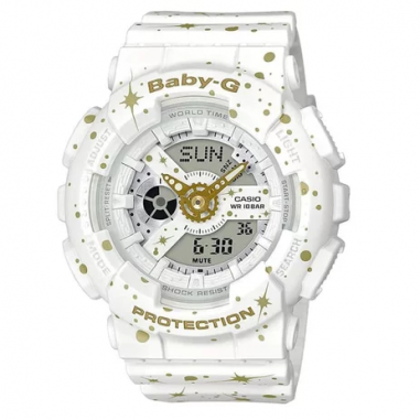 Casio Baby-G BA-110ST-7ADR White...