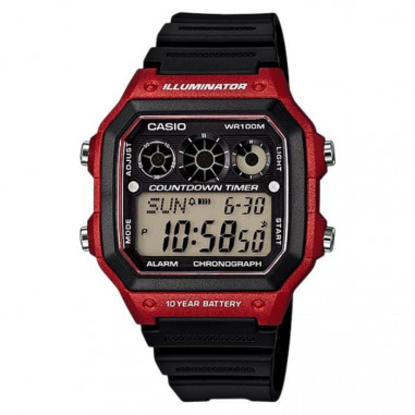 Casio AE-1300WH-4AVDF Water Resistant...