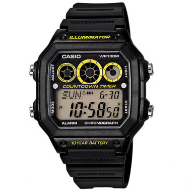 Casio AE-1300WH-1AVDF Water Resistant...