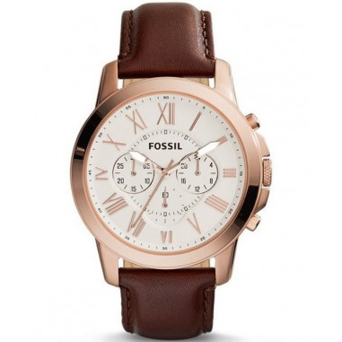 Fossil FS4991 Grant Chronograph Brown