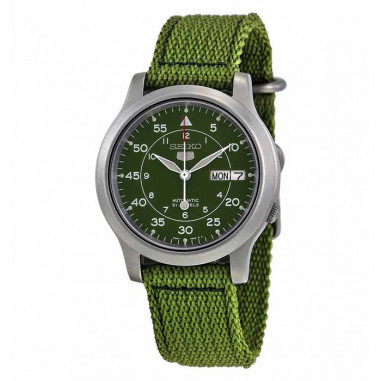 Seiko 5 Automatic SNK805K2 Green Silver