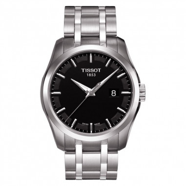 TISSOT Couturier Black Dial Stainless...