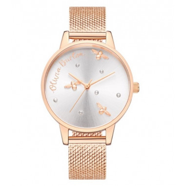 Olivia Burton Pearly Queen Rose Gold...