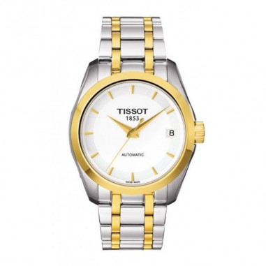 TISSOT Couturier Automatic Two-tone...