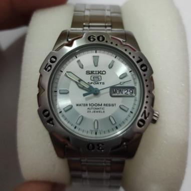 Seiko 5 SKZ169 Sports White dial