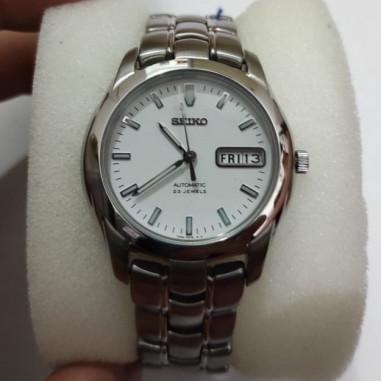 Seiko 5 SKZ015 Sports White dial