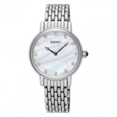 Seiko Classic SFQ807P1 White Dial...